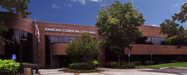 Rancho Cordova City Hall - exterior front