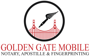Golden Gate Mobile Notary logo
