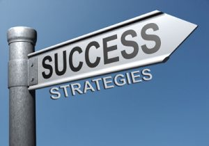 Strategies-Success signpost